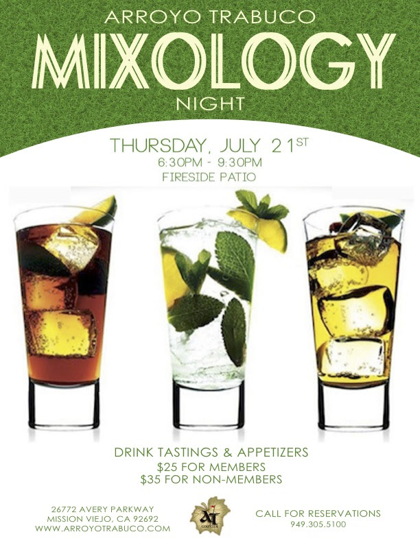 Mixology Night is July 21